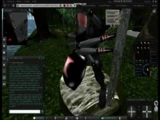spiderwoman वेयरवोल्फ captiving दोस्त के लिए - शरारती Machinima