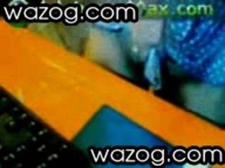 wazog.com द्वारा एक छड़ी पर दो pussies के साथ गर्म त्रिगुट