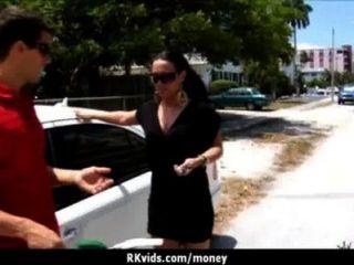 शौकिया लड़की एक बकवास 23 के लिए पैसे लेता है