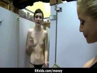 सेक्सी जंगली लड़की बकवास करने के लिए भुगतान किया जाता है 8