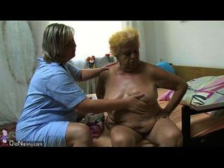 पुराने नानी वसा बड़ा दादी युवा लड़के के साथ एक सेक्स है