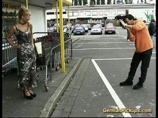 गुदा सेक्स के लिए जर्मन milf पिकअप