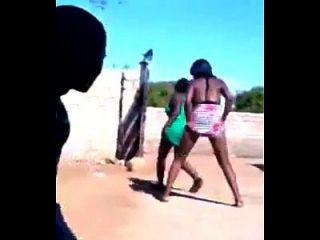 अफ्रीकी लड़कियों नृत्य