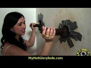 सेक्सी जंगली औरत 9 में gloryhole पर deepthroats