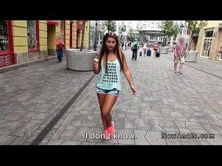अपार्टमेंट पीओवी में किशोर प्रेमिका गुदा fucks