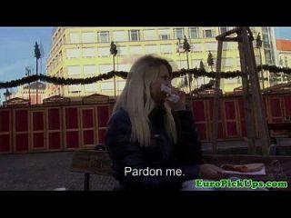 यूरो girlnextdoor एक अजनबी मुर्गा बेकार है