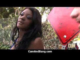 काले लड़की रेड इंडियन ग्रुप 8 में कई सफेद लंड लेटे