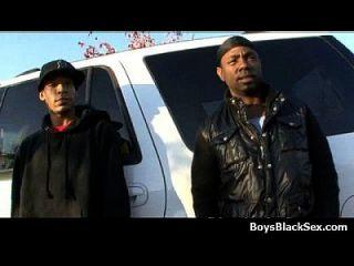 काले समलैंगिक लड़कों पर समलैंगिक समलैंगिक अंतरजातीय कट्टर कार्रवाई 11