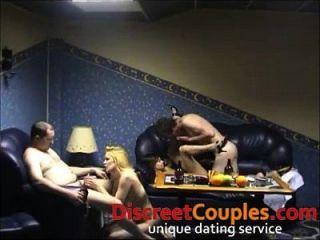 घर का बना खुशमिजाज आदमी सेक्स पार्टी