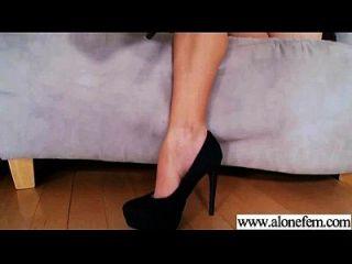 एकल सींग का सेक्सी लड़की छेद फिल्म में चीजों की सभी तरह का उपयोग 13