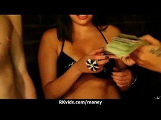 सेक्सी जंगली लड़की बकवास करने के लिए भुगतान किया जाता है 4