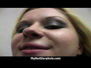 horny महिला आनंद मिलता है gloryhole cocksucking अंतरजातीय 23