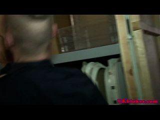 समलैंगिक ब्रिट फैक्ट्री में कमबख्त जॉक्स