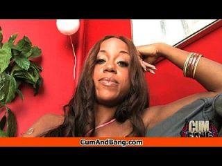 काले लड़की रेड इंडियन ग्रुप 18 में कई सफेद लंड बेकार है