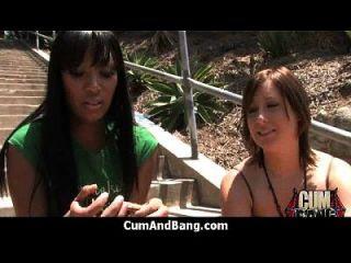 काले लड़की रेड इंडियन ग्रुप 3 में कई सफेद लंड बेकार है
