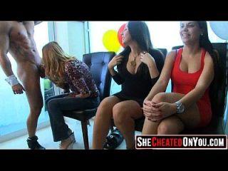 24 सुंदर sluts सेक्स पार्टी पर सह गुदा! 07