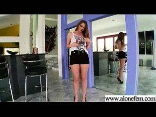 एकल सींग का सेक्सी लड़की छेद फिल्म में चीजों की सभी तरह का उपयोग 14