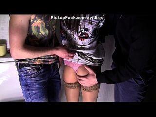 एक धोखा पत्नी के साथ सुपर गर्म सार्वजनिक अश्लील वीडियो दृश्य 3