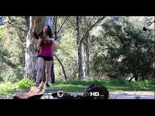 एचडी फंतासीहैड ऐलिस मार्च जंगली आउटडोर सेक्स है