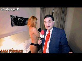 सारा टॉममासी: वीडियो पॉर्न कॉ और एंड्रिया डिपर!