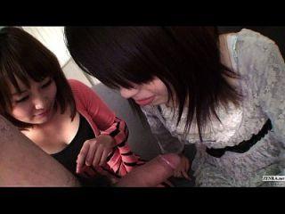 उपशीर्षक uncensored पीओपी जापानी सीपीएनएम त्रिगुट पूर्ण HD में blowjob