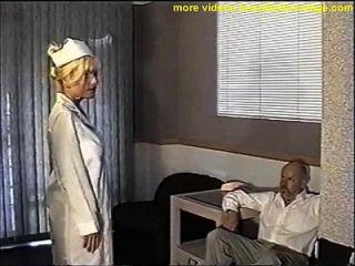 busty नर्स गेंद gagged और स्तन fondled