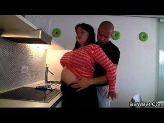 खाना पकाने वसा लड़की गड़बड़ हो रही है