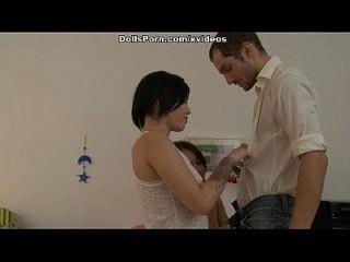 कट्टर समूह सेक्स के साथ खूबसूरत प्रेमी दृश्य 1