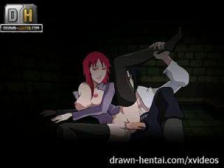 naruto अश्लील karin आता है, sasuke cums