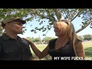 मैं तुम्हारी पत्नी हूँ लेकिन मुझे पक्ष में कुछ डिक चाहिए