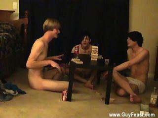 गर्म समलैंगिक हवाई पुरुषों सह ट्रेस और विलियम अपने साथ मिलकर