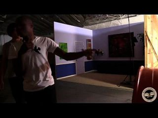 कालेब एंड्र्यूस काली मुर्गा के साथ अपना पहला खेल आनंद मिलता है