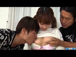 किशोरों के साथ गंभीर त्रिगुट सेक्स जापानी sana anzyu