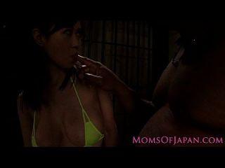 जापानी milf अंतरजातीय बकवास