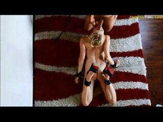 गोरा जर्मन शौकिया gf किसी न किसी spanking हो जाता है