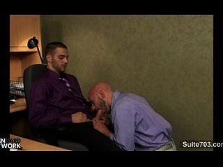 कार्यालय में पिटाई lusty समलैंगिकों