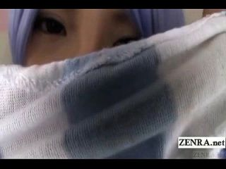जापानी छात्रा cosplay सुमायर मत्सु खुशबू बुत