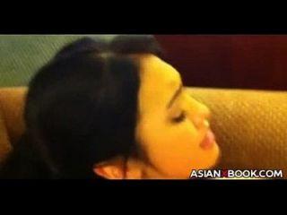 एशियाई pov बकवास और चूसना