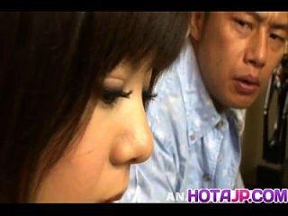 शिनो नाकामुरा चूसा मुर्गा से मुंडा दरार पर सह हो जाता है