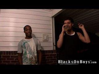 xavier एक काला आदमी को अपने गुदा कौमार्य खो देता है