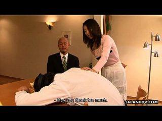 अपने घर में उसके घर पर एशियाई स्लट येई धोखाधड़ी