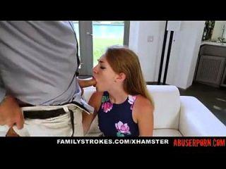 प्यारा सौतेली बेटी को उसके stepdaddy और माँ द्वारा दंडित ... abuserporn.com
