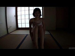 एचडी में पतली भूरा जापानी भूत समूह शौकीन