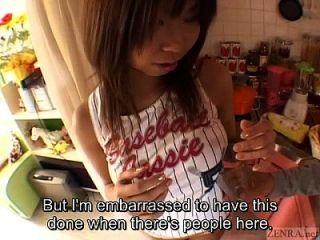 Busty तन जापानी स्कूटर बड़ा स्तन जटिल उपशीर्षक