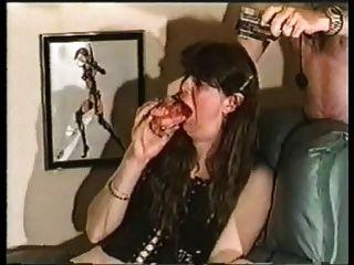 बनाम esophigus डीप गले कार्रवाई महान डिल्डो