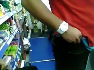 किराने का सामान दुकान पर blowjob