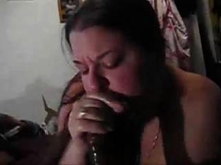 मैला blowjob
