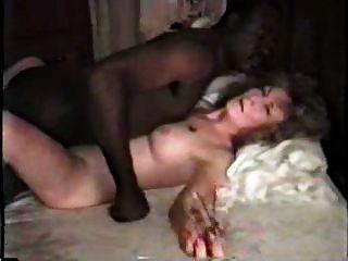 काले प्रेमी भाग 1 के साथ Nympho परिपक्व सफेद पत्नी