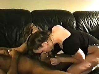 मलाईदार सफेद पत्नी उसे बीबीसी प्रेमी से एक पाई हो जाता है