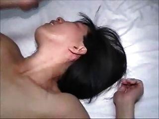 गर्म पत्नी एक creampie पति मैला सेकंड हो जाता है